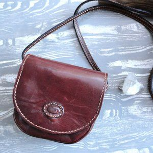 Brown Leather Crossbody Purse   The Point   Eagle